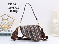New designer single shoulder bag high quality European and A...