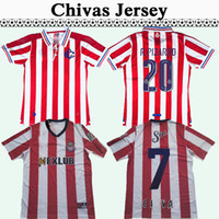 1996 1997 Chivas de Guadalajara RAMON RAMIREZ RETRO Soccer Jersey 110TH R. PIZARRO Accueil Red Football Shirt Camisetas de Fútbol Uniformes