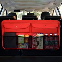OHANEE Trunk Backseat Box Multi Pocket Auto Organizer Back Seat Aufbewahrungstasche Auto Verstauen Aufräumen Innenausstattung Styling