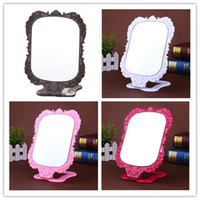 Cosmetic Mirrors Folding Desk Mirror Cute Make Up Mirror Min...