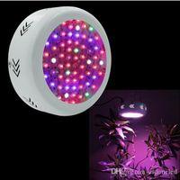 UFO طيف كامل أدى أضواء تنمو 72 * 3W الزراعة المائية تنمو مربع مصابيح LED للمنشط النباتي النمو الخضروات المزهرة