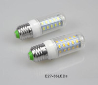Высокое качество ультра яркий светодиодные лампы E27 110 В SMD 5730 чип 360 луч угол из светодиодов кукурузы свет лампы освещения 36LED