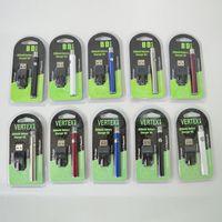 Vape 배터리 VERTEX 350mah VV 예열 배터리는 510 개 스레드 가변 전압 펜 전자 전자 담배 배터리는 석유 카트리지를 위해 포장