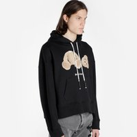 19FW Palm Angel Hooded Sweatshirt Bear Printing Pattern Comf...