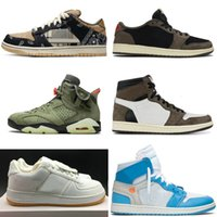 Cactus Jack Dunk SB Top OG SP High Low Jumpman 1 1s Weiß Basketball-Schuh-Forces Ein 3M 6 6S Off Desginer Trainer Turnschuhe