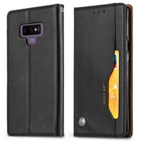 Magnetic Case For Samsung Galaxy S10 E S9 Note 9 A6 A7 A8 A9 J6 J8 2018 A30 A40 A50 A70 Retro Wallet PU Leather Case Flip Card slot Case