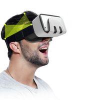 최고 브랜드 디자이너 VR 안경 헤드셋 블루투스 원격 제어 범용 VR 상자 가상 현실 3D VR 안경 게임 영화 3D 범용 새로운