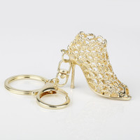 Shoe Keychain Bling High Heeled Key Chains Ring Purse Pendan...