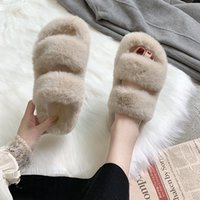 Winter Women House Fuzzy Slippers 2020 Faux Fur Fashion Warm...