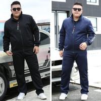 Varsanol Yeni Erkekler Setleri Moda Sonbahar Bahar Sporting Suit Kazak + Sweatpants Erkek Giyim 2 Parça Setleri Ince Eşofman Hots SH190909