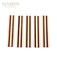 NAOMI 5 Piece 클래식 기타 브리지 타이 블레이즈 인레이 우드 프레임 시리즈 기타 부품 액세서리 새로운 NA-09