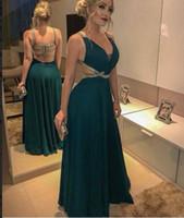 2022 nouvelles robes de soirée en mousseline de soie paillettes Soirées vertes Blackish Veire Perles Celebrity Robes de bal pour femmes