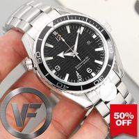 VFactory 2020 Sapphire Мужские часы 43mm 2813 Автоматическое движение Мода Часы Мужские механические 007 Наручные часы