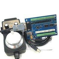 Высекая машину CNC Motion Control Card 5-Axis Interface Board MACH3 Interface Board USB с маховиком