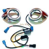 1 개 교체 : 포드 포커스 III 2,011에서 2,013 사이, 프론트 범퍼 천사 눈 DRL, 1 등 케이스를 실행 LED 라이트 가이드 주간