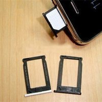 Pour l'iPhone 3G 3GS carte SIM Plateau adaptateur Holder avec des couleurs noir et blanc remplacement Livraison gratuite
