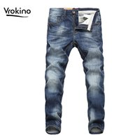 VROKINO 2019 Spring and Autumn New Shelves Men' s Casual...