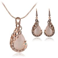 Hi_kenty Creative Peacock Jewelry Necklace Set Hot Necklace ...