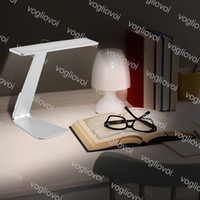 Lampada da tavolo 28LEDS 6500K Touch Reading USB Eye Protection Eye Night Light Rechargeble Illuminazione indoor per lampade da tavolo DHL