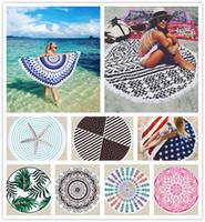 30 designs mandala praia toalha dreamcatcher impresso toalhas de banho com borla xaile verão praia tapete cobertor yoga tapete tapetes tapeçaria