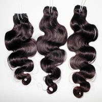 أرخص 8A العذراء غير المجهزة الجسم موجة الشعر الهندي نسج 3 حزم كامل ملحقات الساحرة سيدة prosucts