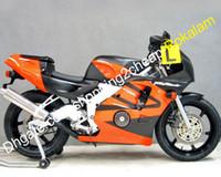 Мотоциклы для мотоциклов для CBR250RR MC22 MC 22 Moto Coapling Part 90 91 92 93 94 CBR 250RR обтекатель Оранжевый черный (литье под давлением)