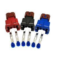 2 Pin PB185-02326 de Knock hembra conector del sensor de Nissan, Céfiro, Negro, Rojo, el color azul elegir