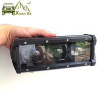 """Xuanba 6D lentille 8 """"14"""" 20 """"37"""" 33 """"53"""" 46 """"53 pouces LED Bar à LED pour Offroad 4x4 4WD ATV UTE Feuille d'entraînement"""