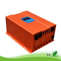 1000W / 1 KW 24 / 48V auf 100/110/120/200/220/240 Vac-System Home Use Residential Solaraufladeeinheits Controller + Inverter Cabinet, optional grid Ladungs