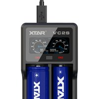XTAR 2 VC2S Colorful VA LCD Screen Apply to 10440/14500/14650/16340/22650/17500/26650/18350/18490/18500/18650/20700/21700
