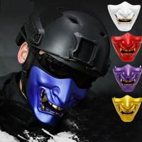 Мотоцикл Череп Маска для лица Открытая Маска для езды на Хэллоуин Mascara Casco Moto Шлем на лыжах с ужасом