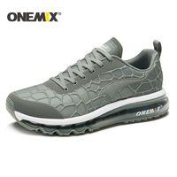 ONEMIX طريق تشغيل وسادة الهواء أحذية الرجال في الهواء الطلق أحذية المشي الرجال المطحنة الاحذية النساء شيوس تنس الرجال