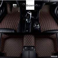Özel Araba Zemin Ayak Mat İçin Land Rover Freelander 2 Discovery 3 Evoque Range Rover Araç Aksesuarları Su geçirmez Halı