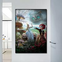 yağlı boya odası, yatak odası, yemek odası, ev dekorasyon, Ai Li Bi, ayna, tuval, çekirdek duvar fresk uyurgezerlik boyama püskürtün.