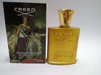 2020 Hottest Ouro Edição Creed Perfume Creed Millesime Imperial de fragrância unissex Perfume para mulheres dos homens 100 ml frete grátis