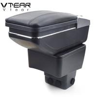 Vtear для Mazda CX-3 CX 3 CX3 подлокотник коробка центральный магазин содержание box подстаканник пепельница интерьер автомобиля стайлинг аксессуары 14-19