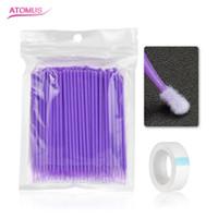 Kit de cils individuels Extension de cils Outil de micro-brosses jetables Set Kit de beauté de cils individuels