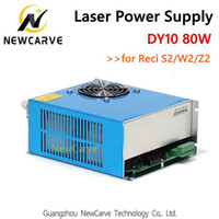 DY10 Laser CO2 d'alimentation 80W Pour Reci W2 S2 Z2 Laser Tube NewCarve