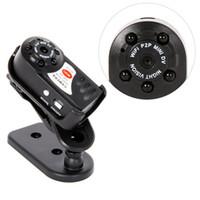 Q7 Wifi Mini caméra 480P IR Night Vision MINI DV DVR détection de mouvement sans fil de support de la caméra de surveillance vidéo à distance