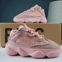 Pink Baby Kids Shoes Wave Runner 500 Running Shoes Kanye Wes...