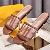 أحذية الفاخرة باريس مصمم الصنادل أزياء السيدات صيف الصنادل شقة النعال في الهواء الطلق شاطئ المرأة زحافات رسائل النعال