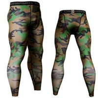 Frete grátis New mens compressão calças esportivas em execução collants de basquete calças nym musculação corredores skinn boa 4