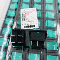 Wippschalter KCD4-202N grün mit hellrotem Licht mit 6 Fuß zwei Feilen 15 / 30A 250VAC