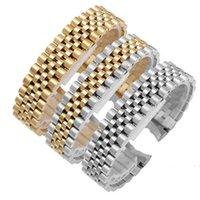 20 mm en acier inoxydable solide Bracelet de montre pour Rolex Day-Date Bracelet Bracelet Lien watchbands