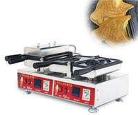Продуктовая обработка коммерческих цифровых деформированных хвостовых рыб Waffle Maker Snapper Taiyaki Machine
