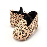 Großhandel 3 Paar neue Herbst-Art-Goldsegeltuch-Baby-Wanderer-Schuh-flachen Kleinkind-Prinzessin weiche Unterseite rutschfeste Schuhe