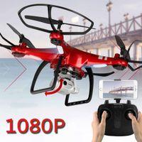 El más reciente XY6 de cuatro ejes de vídeo RC aviones no tripulados helicóptero Quadcopter 1080P WIFI FPV Cámara aérea profesional de control remoto aviones no tripulados juguete del cabrito T191003