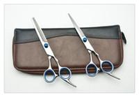 6.0 pulgadas personalizada Tijeras de peluquería Precio de fábrica Tijeras de corte Adelgazamiento Tijeras adelgazamiento profesional 62HRC JP440C