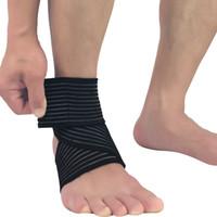 Bandaj Ayak Bileği Koruma Yüksek Kaliteli Açık Spor Ayak Bileği Desteği Erkekler ve Kadınlar için Nefes Ayarlanabilir Ayak Bileği Brace