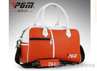 Toptan-Yeni PGM Marka Golf Çantası Golf Elbise Çanta Erkek Kadın Ayakkabı Paketi Kutusu Şeklinde Büyük Kapasiteli Çift Güverte Giysi Çanta 3 Renkler